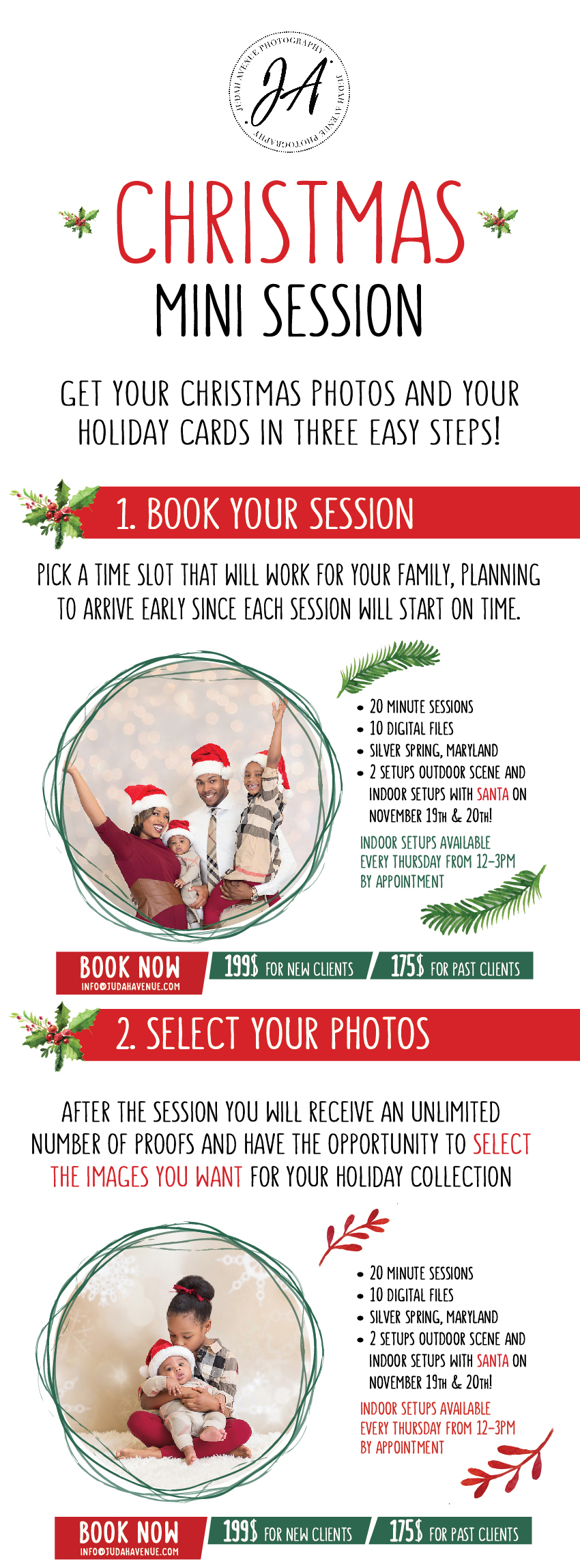 Christmas Mini Sessions are Back! Book Your Holiday Photos ...
