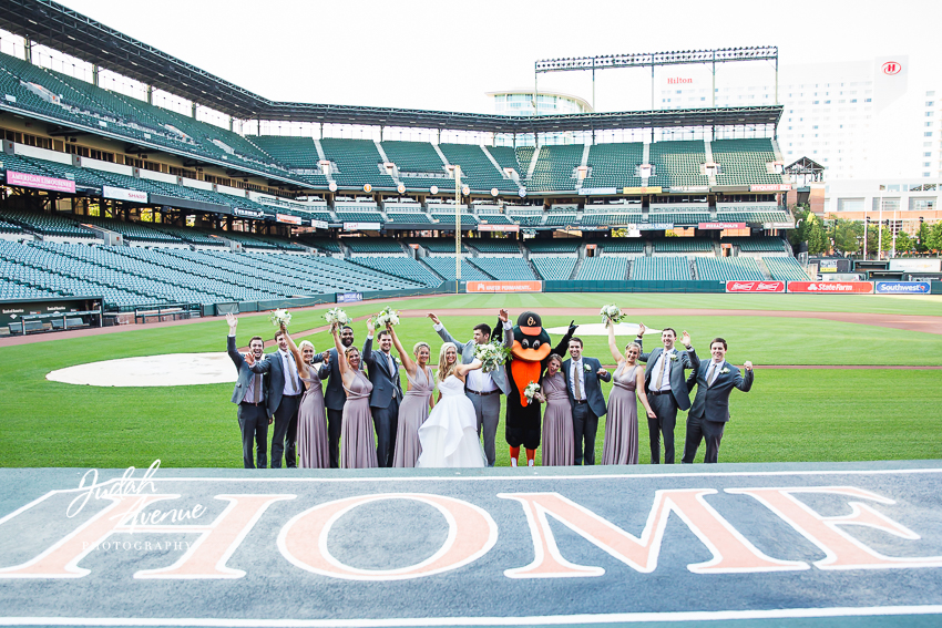 Emily and Kevin wedding at Camden Yards in Baltimore MD wedding photographer in Maryland wedding photographer in virginia wedding photographer in washington dc