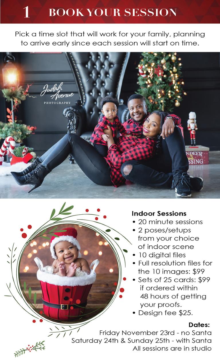 Christmas Setups.Christmas Mini Sessions Are Back On Judah Avenue Holiday