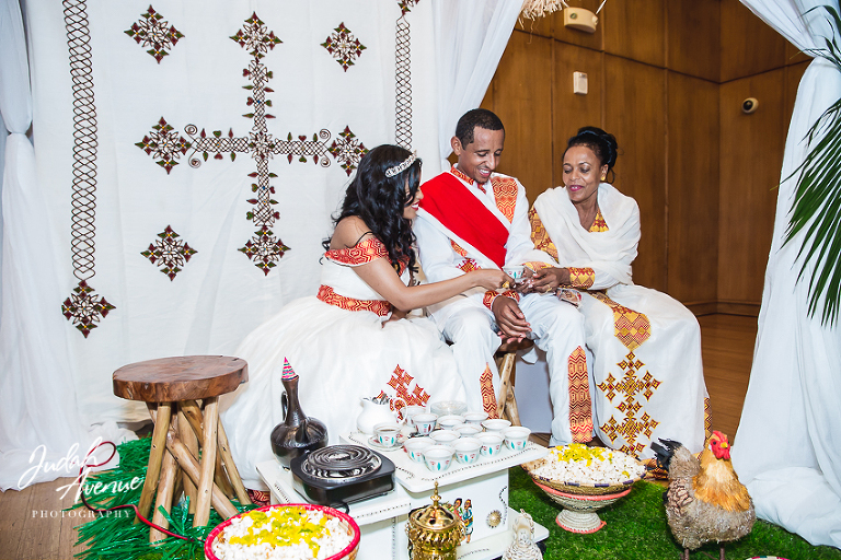 Aida And Betre S Traditional Ethiopian Mels Wedding Ceremony At